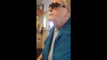 Old Lady Gets Racist At IHOP