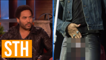 Other Times Lenny Kravitz's Penis Fell Out That You Might Have Missed
