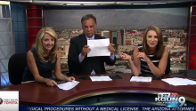 News Anchors Forced To Improv On Live TV