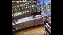 Man Saves Falling Wine Bottle Like An Action Hero