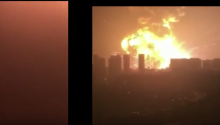 Explosion In Tianjin, China From Different POV's