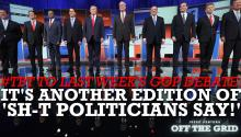 Jesse Ventura's #TBT to Last Week's GOP Debate: It's Another Edition of 'Sh-t Politicians Say!'