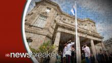 U.S. Flag Raised To Commemorate Opening of Embassy in Havana, Cuba