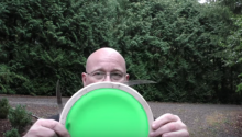 Man Invents Completely Necessary Bladed Frisbee