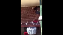 Incredible Beer Pong Dunk