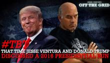 #TBT: That Time Jesse Ventura and Donald Trump Discussed a 2016 Presidential Run