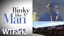 BINKY LIKE A MAN: Oklahoma City Police Look for 'Binky Bandit,' Man Who Robs Other Men While Sucking On A Pacifier (And Holding A Handgun).