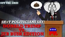 Jesse Ventura's 'Sh*t Politicians Say!' - Donald Trump Vs. Jeb Bush Edition