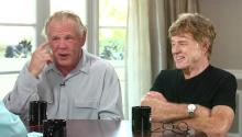 Robert Redford & Nick Nolte On Their Iconic Careers, The 2016 Election & Their New Film 'A Walk In The Woods'