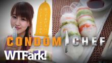 CONDOM CHEF: New Japanese Cookbook Teaches You How To Cook With Condoms. Finally, Mike Rylander Has A Use For All Those Condoms He Bought When He Was 16.
