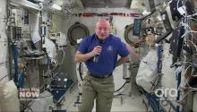 NASA Astronaut In Space Talks Growing Food, Going To Mars (VIDEO)