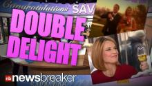 DOUBLE DELIGHT: Today Show Anchor Savannah Guthrie Marries Saturday; Announces She's Pregnant