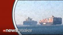 SHOCKER: Two Ships Collide in Suez Canal!