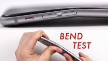 iPhone 6 Bend Test Spoof