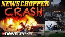 NEWS CHOPPER CRASH: A helicopter for KOMO-TV in Seattle smashes into building killing at least 2 people