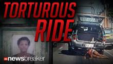 TORTUROUS RIDE: A Brazilian Woman was dragged 900 feet by a Cop Car while her son watched