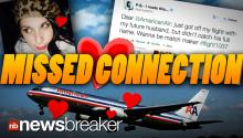LOVE IN THE AIR: Passenger Finds Missed Love Connection After Tweeting for Help to Airline