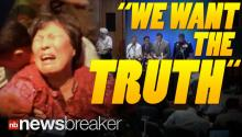 """TRAITORS!"": Family Members Storm Press Conference For Missing Malaysian Flight Demanding the Truth"