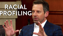Sam Harris: For Racial Profiling of Muslims?