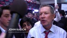 Dave Rubin asks John Kasich about Gay Marriage