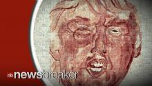 Portland Artist Spotlights Donald Trump's Comments with a Portrait Painted in Menstrual Blood
