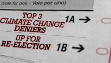 Top 3 Climate Change Deniers Up for Re-election