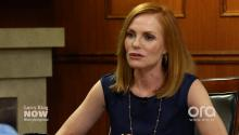 'CSI' Star Marg Helgenberger Talks Gun Control, Hillary Clinton (VIDEO)