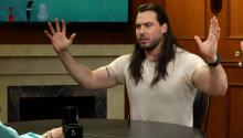 Andrew W.K.'s most embarrassing moment on stage