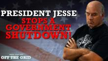 President Jesse Stops a Government Shutdown!