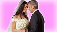 George Clooney & Amal Alamuddin Wedding Photos