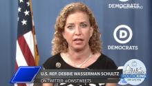 DNC Chairwoman Rep. Debbie Wasserman Schultz (D-FL): Weighs on Fellow Floridians Jeb Bush & Marco Rubio