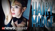 HAIRY MADGE: Madonna Proudly Posts Instagram Pic of Ungroomed Armpit