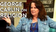 George Carlin's Views on Religion, Atheism (Kelly Carlin Interview Part 2)