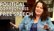 George Carlin's Views on Political Correctness, Free Speech (Kelly Carlin Interview Part 3)