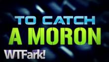 TO CATCH A MORON: Crook Caught After He Drops ID During Robbery. ON TAPE! LIVE! NEWS!