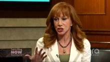 Is Kathy Griffin #FeelingtheBern, or is She #ReadyforHillary?