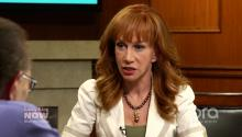 Motorboating 101: Kathy Griffin Gives Larry King a Titillating Lesson