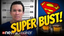 SUPER BUST!: Man in Superman T-Shirt Named Christopher Reeves Busted for DUI and Meth