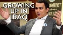 Faisal Saeed Al-Mutar on Growing Up in Iraq Under Saddam Hussein
