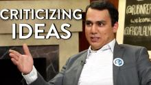Faisal Saeed Al-Mutar on Criticizing Ideas