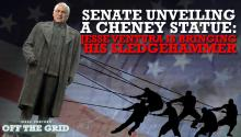 Senate Unveiling a Cheney Statue: Jesse Ventura Is Bringing His Sledgehammer
