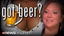 GOT BEER? Charges Dropped on Mother of 3 Arrested for Breastfeeding and Drinking