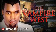 THE VAMPIRE WEST: Rapper Kanye West's Missing Reflection in Vogue Photo Sparks Internet Frenzy