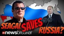 SEAGAL SAVES RUSSIA? Vladimir Putin Teams with Hollywood Action Star for Nationwide Stalin-era Fitness Program