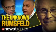 """UNKNOWN KNOWN"": Ora TV's Larry King Sits Down with Filmmaker Errol Morris to Discuss Donald Rumsfeld Documentary"