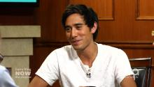 Vine Star Zach King's Rapid Fire Q&A With Larry King!