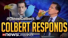COLBERT RESPONDS: Comedian Dedicates Entire Opening of Monday's Show to Racist Tweet Controversy