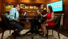 Larry King Does Butt Exercises During Interview, Gets Buns In Shape For 2016