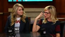 'Idiotsitter' Stars Jillian Bell & Charlotte Newhouse on Melissa McCarthy, Competition in Comedy, & Sisterhood