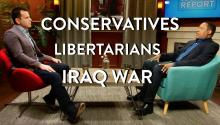 Conservatives, Libertarians, and the Iraq War (Larry Elder Interview Part 1)